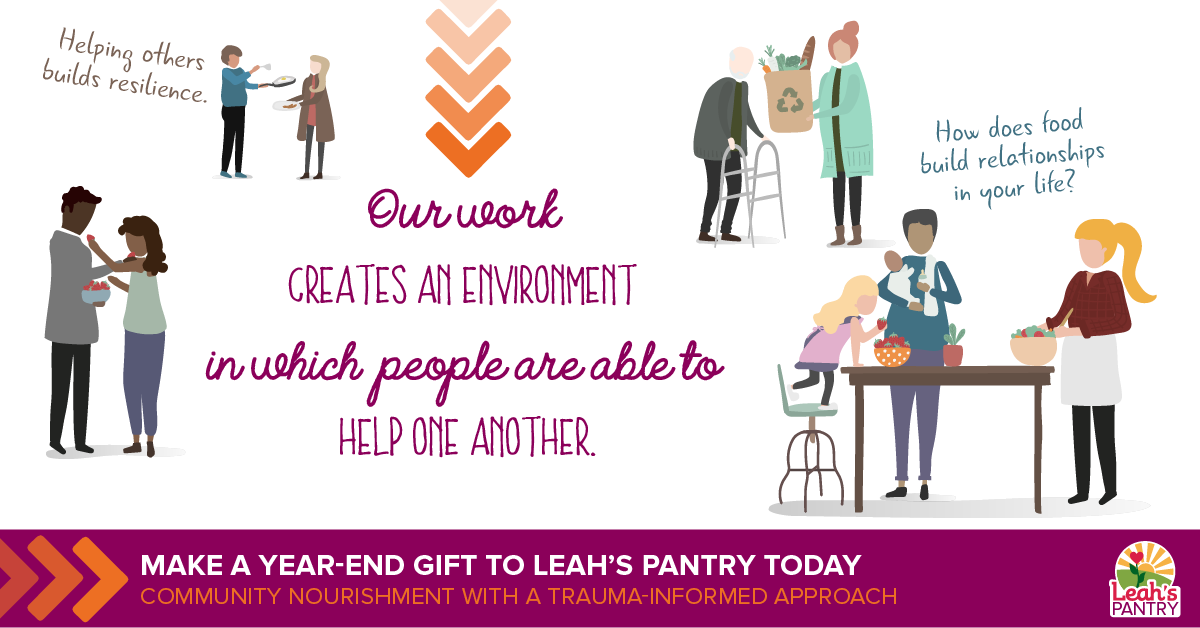 Make a Year-End Gift to Leah's Pantry!